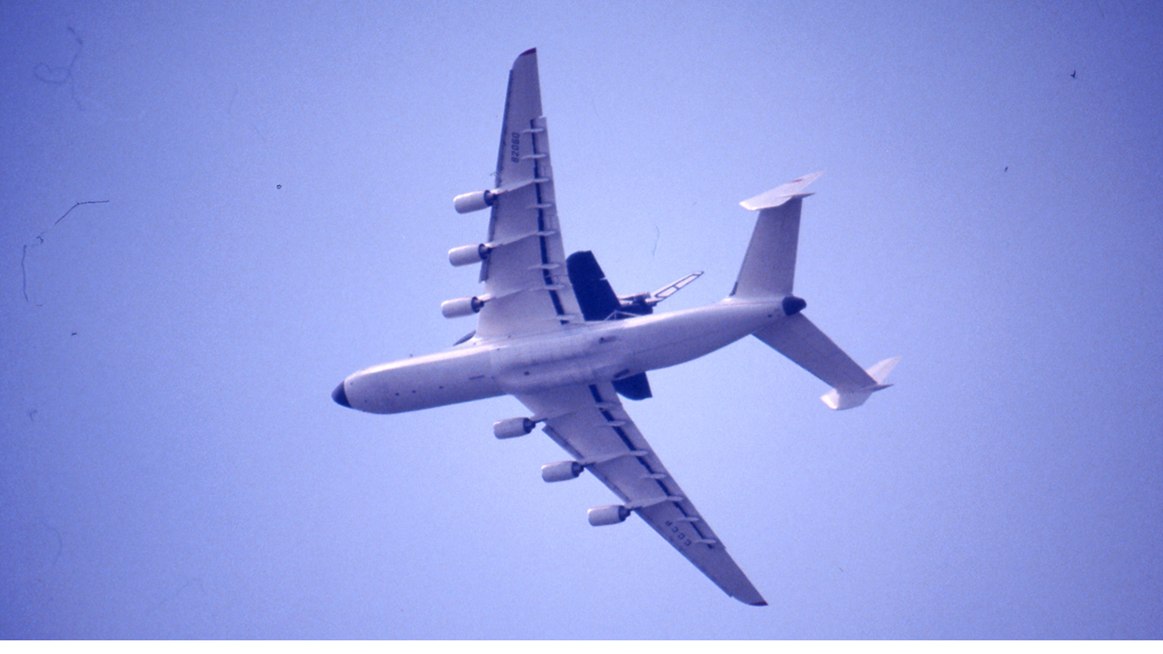 An-225 ja Buran lennossa