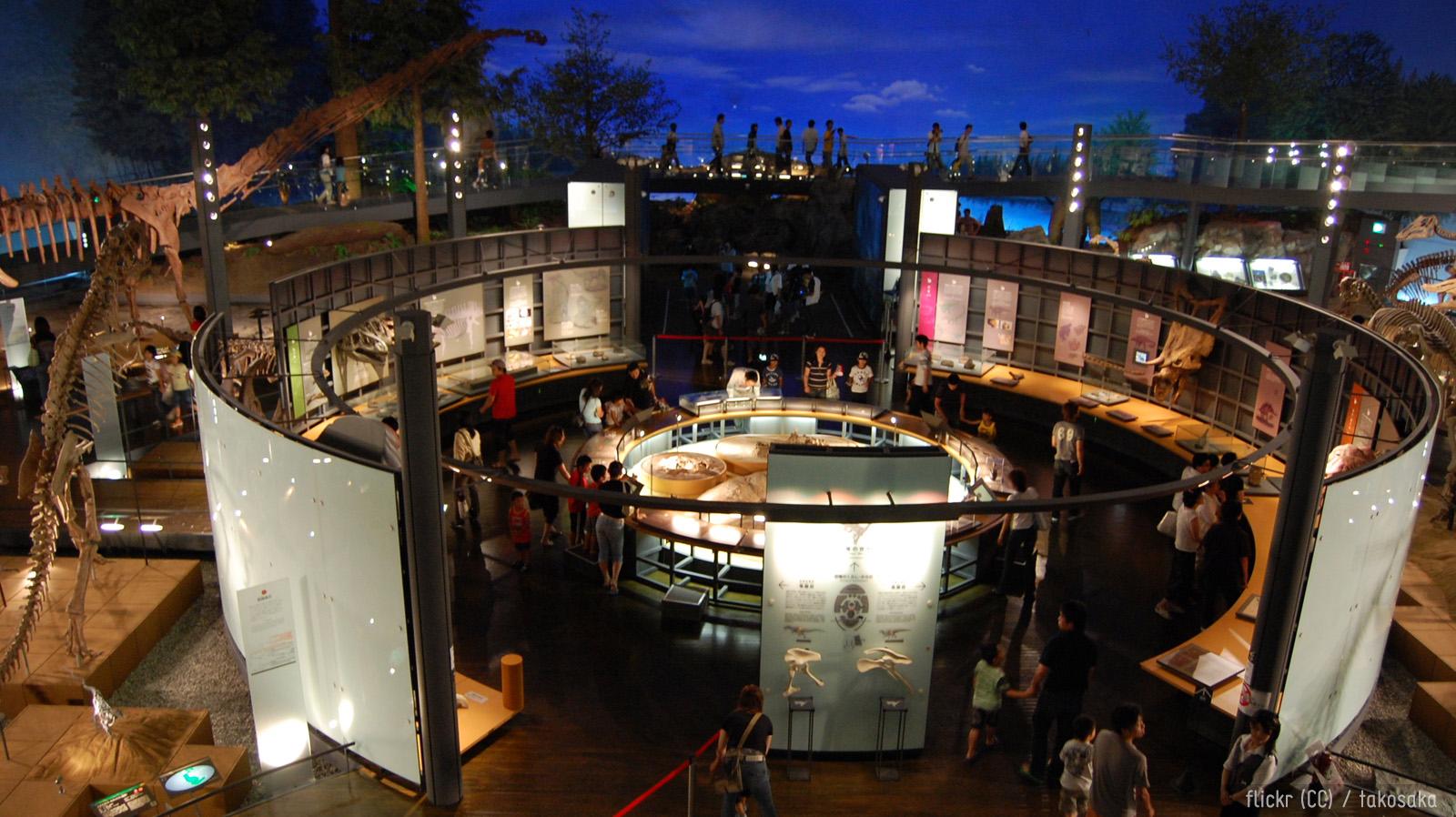 Sisäkuva museosta