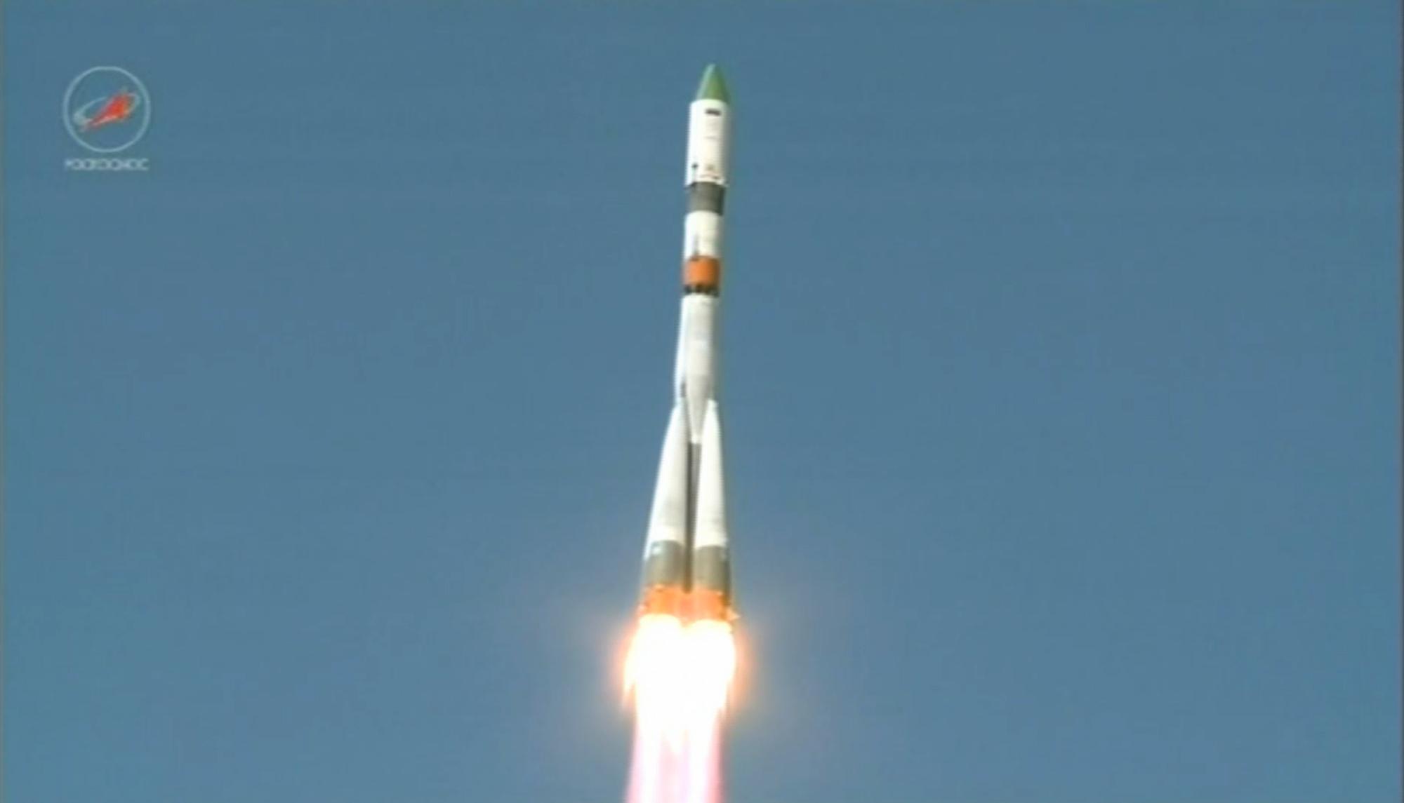 Progress nousee lentoo Sojuz-raketilla