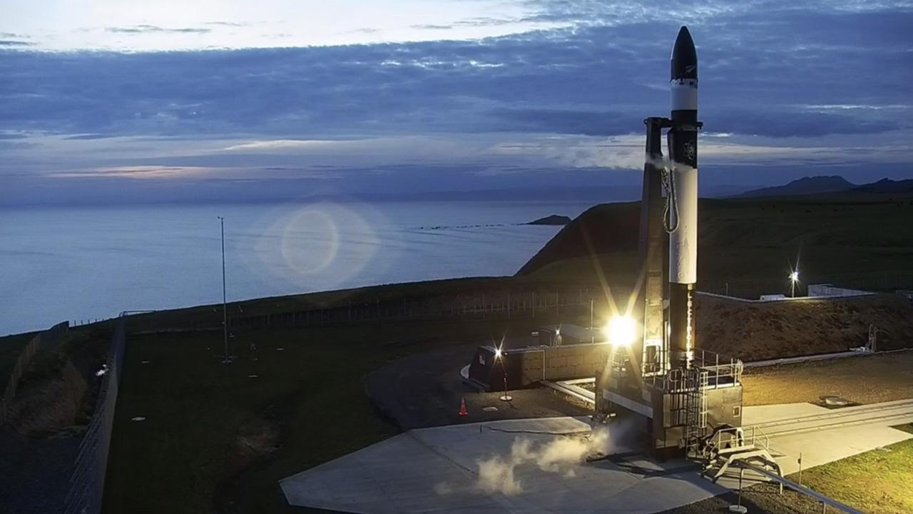 Rocket Lab -yhtiön Electron-raketin testi