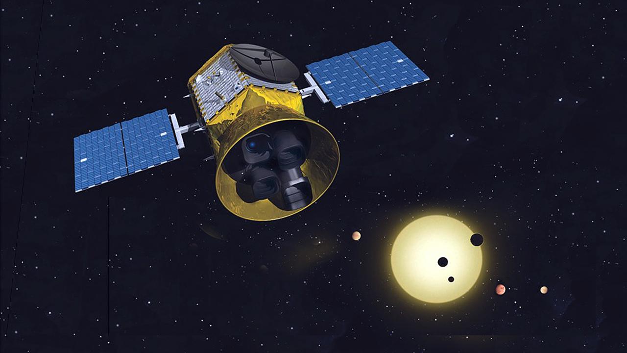 Piirros TESS-satelliitista