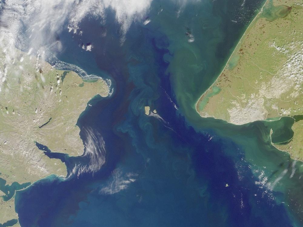 Beringin salmi kartalla