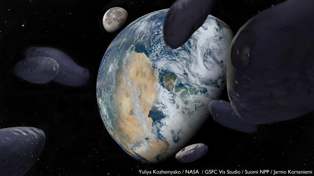 Kuva: Yuliya Kozhemyako / NASA  / GSFC Vis Studio / Suomi NPP / Jarmo Korteniemi