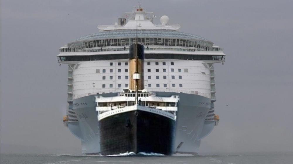 Titanic kokovertailussa