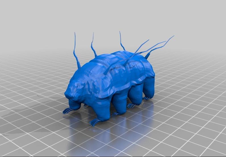 3D-malli karhukaisesta